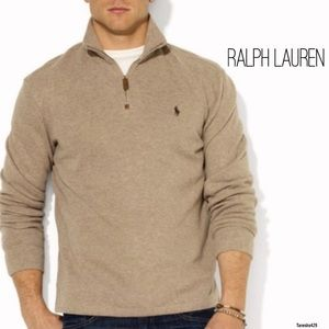 Quarter Zip Sweater by Polo Ralph Lauren